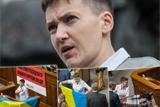 Перший день Савченко в Раді