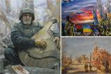 У Запоріжжі відкрилася виставка картин, написаних в зоні АТО