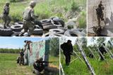 Українські десантники вдосконалюють свої навички на унікальній смузі перешкод