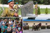 На Дніпропетровщині відкрили пам'ятник воїнам-десантникам, які віддали своє життя за Україну