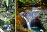 Державний парк США Уоткінс Глен - химерні пейзажі та дивовижні водоспади