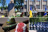 Парад на честь річниці визволення Слов'янська