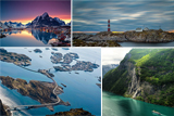 Норвегія - земля фіордів, льоду і полярного сяйва