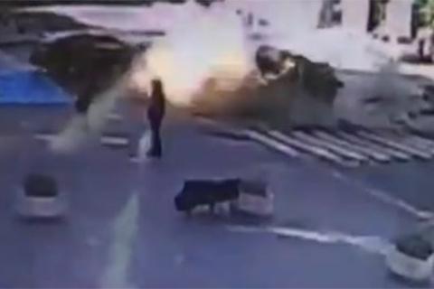 Вбивство Павла Шеремета. Момент підриву автомобіля