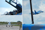 На Полтавщині «ставлять на крило» молодих льотчиків військової авіації