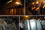 Сутички під будівлею Оболонського районного суду Києва