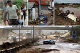 В наслідок сильної повені у Македонії загинула 21 людина