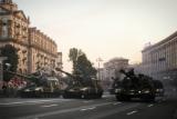 У центрі Києва провели репетицію військового параду до Дня Незалежності