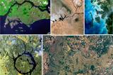 Сюрреалістичні фотографії Землі з космосу