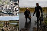 Розмінування Донбасу. З річки Айдар вилучено небезпечні боєприпаси