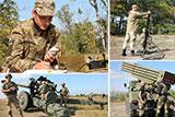 На Херсонщині пройшли навчання українських артилеристів