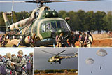 Майбутні офіцери ВДВ виконали свої перші стрибки з парашутом