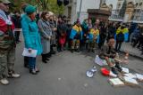 Під АП відбувся мітинг проти реорганізації департаменту Горбатюка у Генпрокуратурі