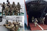 «Чорні берети» взяли участь у морському поході