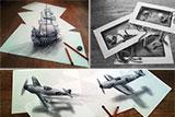 Тривимірні малюнки голландського художника Рамона Бруін