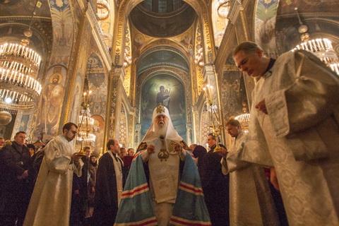 Святвечір у Володимирському соборі