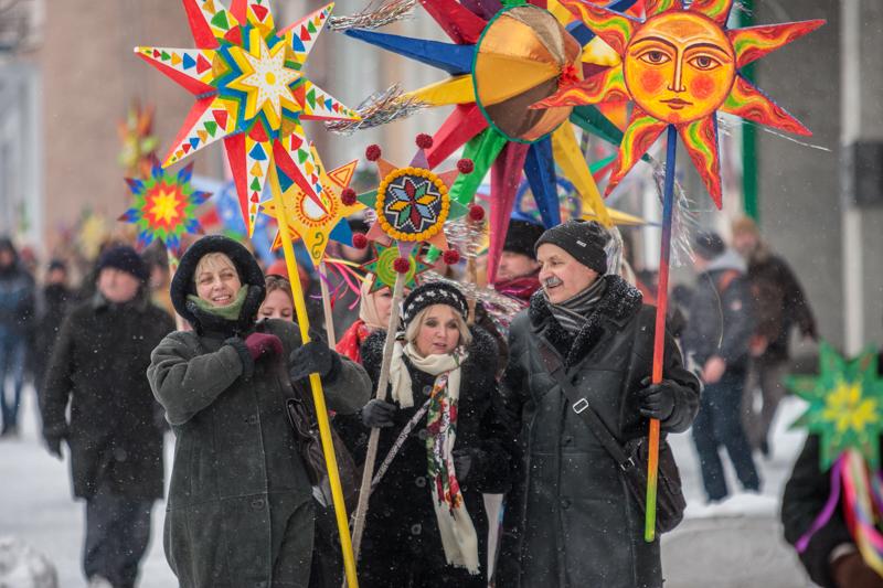 Різдвяна хода у центрі Києва