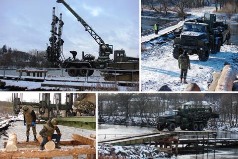 Військові інженери почали наводити міст на Вінниччині