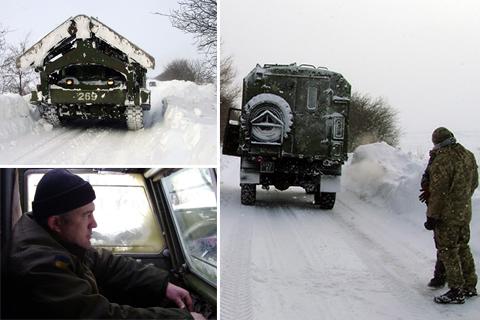 Збройні Сили України допомагають долати наслідки хуртовини на Одещині
