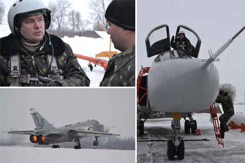На Хмельниччині відбулись перші в новому році польоти бомбардувальної авіації
