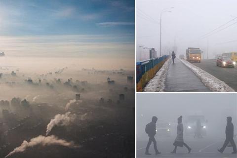 Смог у Києві. Природне явище чи забруднення повітря?
