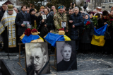 У Києві перепоховали прах Олександра Олеся