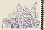 Похорон під канонаду