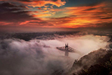 Туманний Будапешт: атмосферні фотографії Тамаша Ріжаві