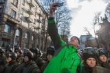 Протест проти торгівлі з ОРДіЛО: у Києві перекрили Банкову