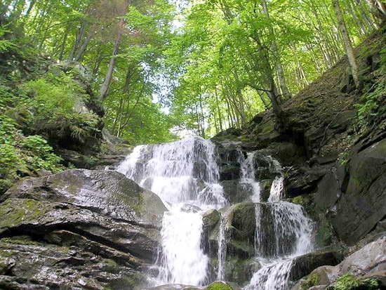 Водоспад Шипіт є одним з найкрасивіших на Закарпатті