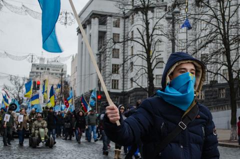 Марш солідарності в День опору окупації Криму
