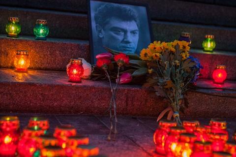 Вечір пам'яті Нємцова в Києві