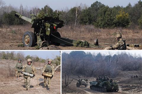 Бойові стрільби 59-ї окремої мотопіхотної бригади
