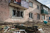 Балаклія після вибухів на артилерійських складах Міноборони