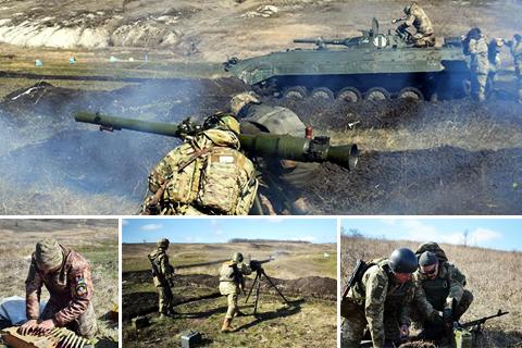 Бойові стрільби підрозділів оперативно-тактичної групи «Луганськ»