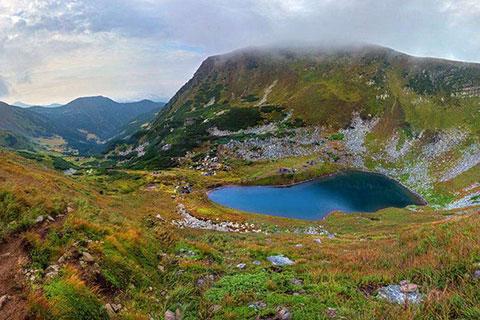 Озеро Бребенескул — «Синє око Карпат»