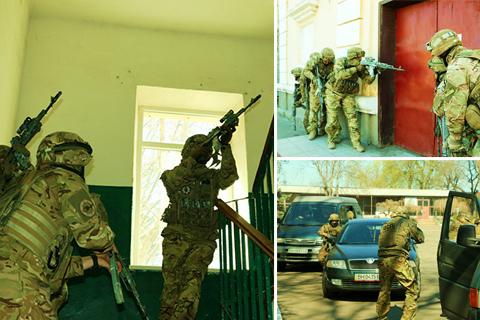 Спецпризначенці ВСП ліквідували змодельований напад на військові об'єкти