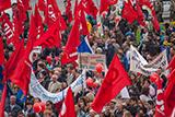 Першотравневі мітинги у Києві