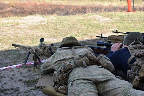 На Житомирщині пройшов конкурс на кращу снайперську пару