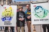 Сенцова #пораотпускать. Акція до третьої річниці арешту українського режисера