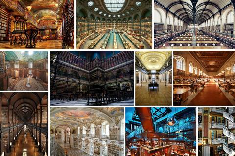 Найкрасивіші бібліотеки світу