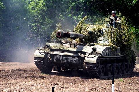 Українські артилеристи відточують свою майстерність