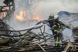 Масштабна пожежа у Броварах