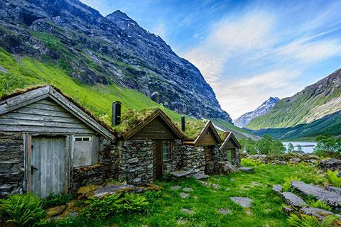 Казкова Норвегія: приголомшлива народна архітектура