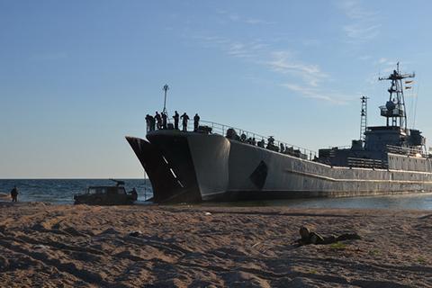 Командувач ВМС перевірив бойову готовність підрозділів національного флоту