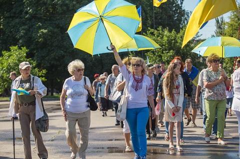 Слов'янськ відзначив три роки звільнення від бойовиків