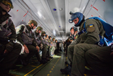 Підрозділи Національної гвардії України вперше виконали стрибки з літака