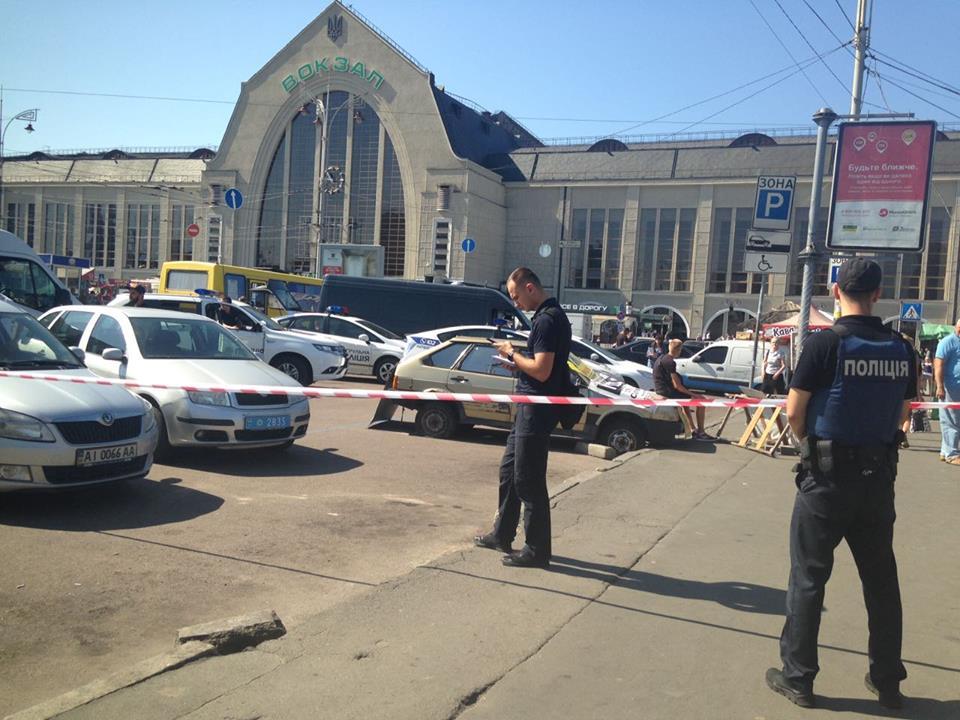 Стрельба вКиеве: злоумышленники ранили троих людей