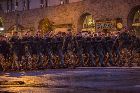 Генеральна репетиція параду до Дня Незалежності в Києві