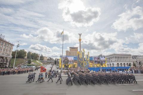 У Києві пройшов військовий парад з нагоди Дня Незалежності України